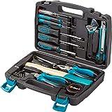 Bort BTK-32 Werkzeugkoffer 32-teiliges Werkzeugset für Haushalt und Hobby
