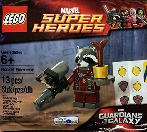 LEGO Super Heroes: Guardians of La Galaxy Rocket Raccoon Establecer 5002145