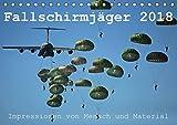 Fallschirmjäger 2018. Impressionen von Mensch und Material (Tischkalender 2018 DIN A5 quer): 12 spannende Einblicke in die Arbeit der Luftlandetruppen ... [Kalender] [Apr 04, 2017] Lehmann, Steffani
