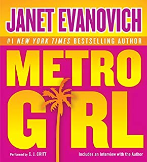 Metro Girl audiobook cover art