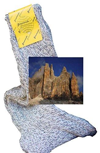 CzSalus Offre spéciale 6 Paires de Chaussettes Longues rochassier Montagne (Gris mouliné, 12)