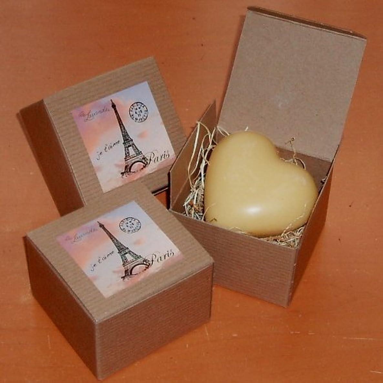 Heart Shaped Soap - Fragrance -Lemongrass - Made in Provence