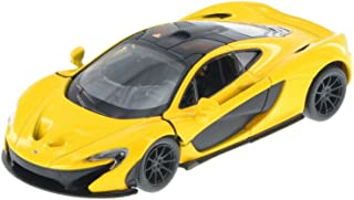 McLaren P1, Yellow - Kinsmart 5393D - 1/36 Scale Diecast Model Toy Car
