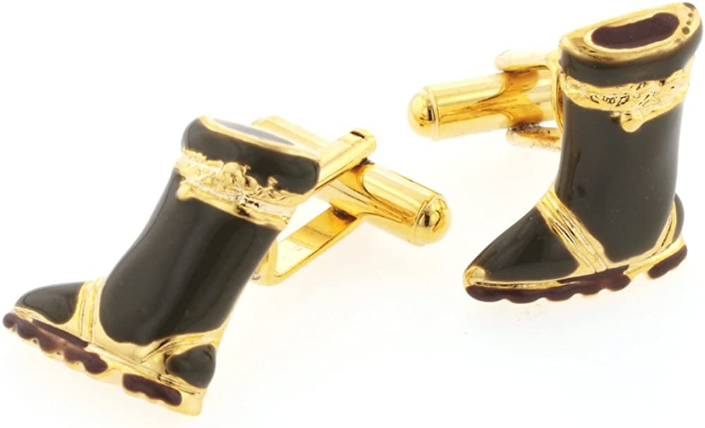 JJ Weston Boots Cufflinks. Made in The USA.