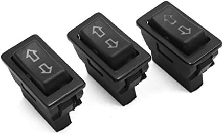 Sourcingmap 2pcs Universal DC 12V 24V 5 Pins Car Power Window Lifter Switch