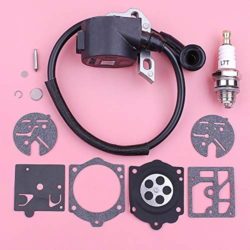 Laliva tools - Ignition Coil For Stihl 015 015AV 015L Spark Plug Carburetor Repair Kit Chain Saw Chainsaw Spare Replacement Part