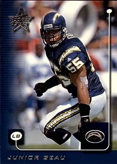 1999 Leaf Rookies and Stars Football Rookie Card #157 Junior Seau