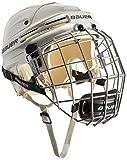 Bauer Eishockeyhelm 4500 Combo mit Gitter - Casco de Hockey sobre Hielo, Color Blanco, Talla s