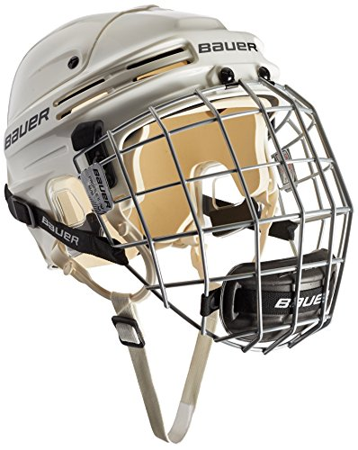 BAUER - Eishockey Helm Combo mit Gitter 4500 I Junior & Senior I Schutzhelm für Eishockeyspieler I inkl. integriertem Profil-Gitter & Kinnschutz I robust & stabil I Eishockeyzubehör I zertifiziert