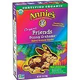 Annie's Organic Friends Bunny Grahams Snacks, 7 oz (Pack of 6)