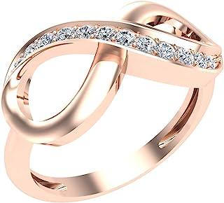JO WISDOM 925 Sterling Silver Cubic Zirconia Stackable Chevron Thumb V Shape Ring