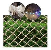 安全ネット 多目的な用途のネット 服を吊るす階段セーフティネットの子供バルコニー落下防止ネット麻縄のネットフェンス保護ネットの天井のネットネット写真、壁の装飾ネット 怪我防止 危険防止 簡単設置 防獣ネット 動物ガードネット アニマルネット (Size : 2x10m)