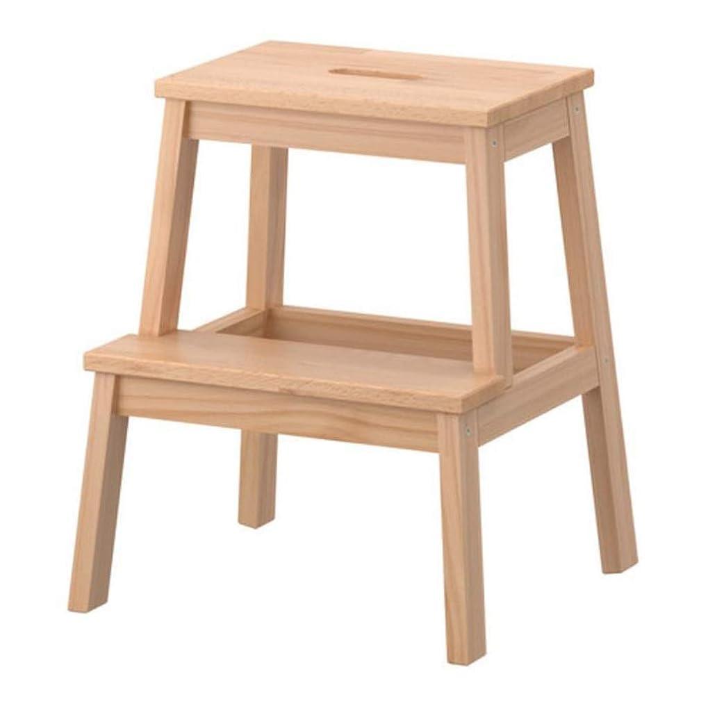 制限する滞在苗はしご兼用脚立 踏み台 梯子, 2ステップ木製ステップスツールホーム大人の靴ベンチ昇順スツールクライミングハイスツール子供ベンチ負荷150キログラム