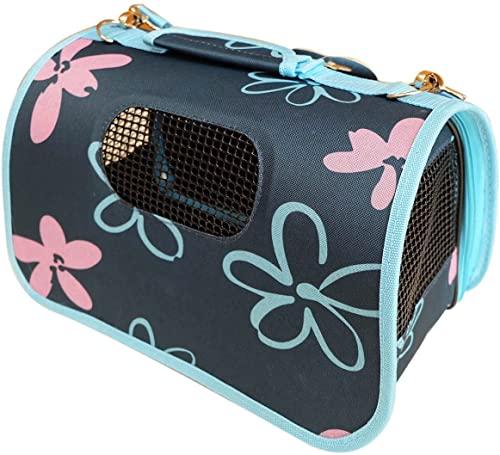 JSG Portador Transportín Bolso de Tela para Perro, Gato, Mascotas, Animales, Pequeños Tamaño:S (36 X 22 X 24CM)