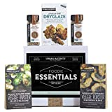 Urban Accents FOODIE ESSENTIALS Seasoning Spices Gift Set (Set of 5) Gourmet Salt Gift Set of Grill...