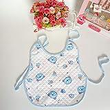 AKDSteel - 2 Baberos Impermeables de tamaño Grande para bebés, Estilo Chaleco...