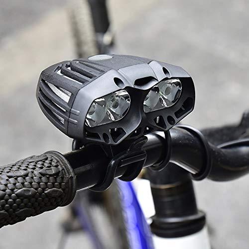 HCHD 600 LM 4X XML-T6 LED Bicicleta Ciclismo Luz Delantera Faros Delanteros Faros 4 Modo