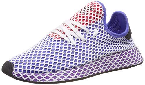 adidas Deerupt Runner W Zapatillas de Running Mujer, Multicolor (Lilrea/Puract/Rojsho 000), 36 2/3 EU