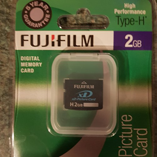 Fujifilm xD-Picture Card Speicherkarte 2 GB - Speicherkarten (2 GB, xD)