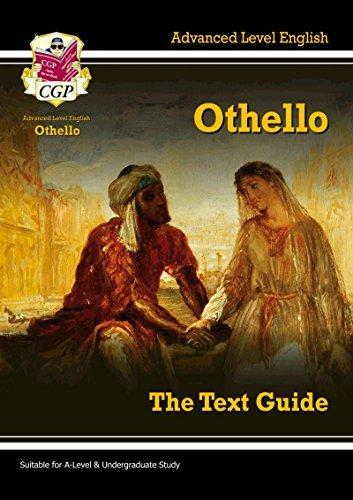 A-level English Text Guide - Othello (Text Guides) by CGP Books (2016-07-27)
