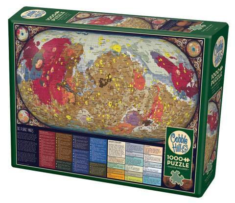 Cobble Hill- The Planet Mars - Puzzle (1000 Piezas) (80287)