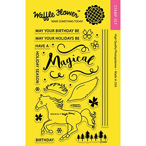 Waffle Flower Magical Stamp Set