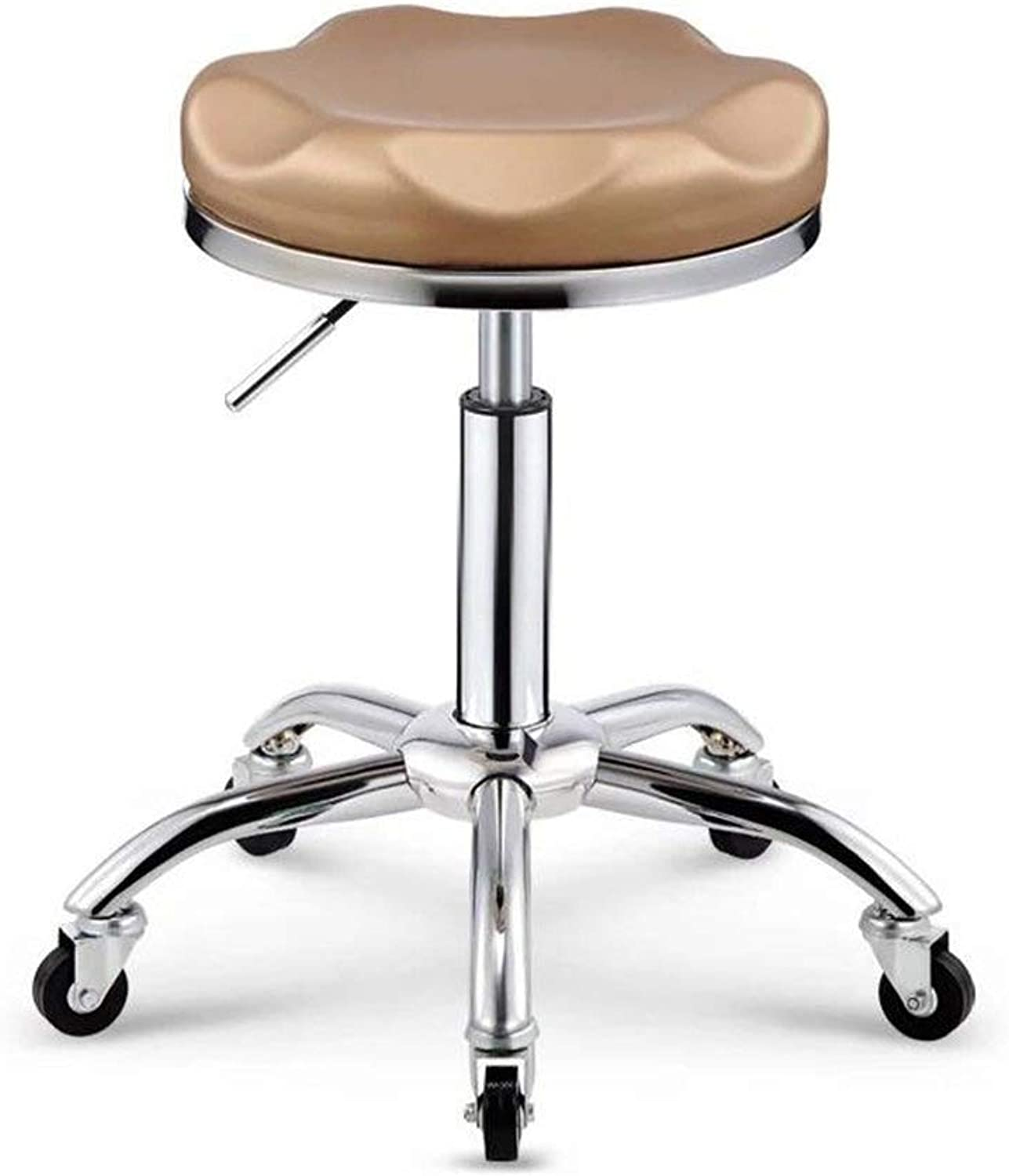Lifting High Stools Swivel Chair Barber Stool Creative Dining Chair,Beautiful Bearing Capacity redatable GMING (color   A)