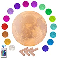 Kithouwas 16 Colors Moonlight Lamp with Remote & Stand