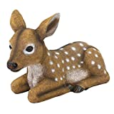 Design Toscano QM2787100 Darby, the Forest Fawn Baby Deer Statue,full color
