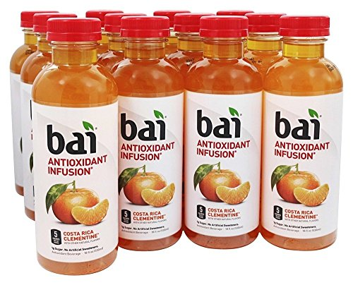 Bai - Antioxidant Infusion Beverage Costa Rica Clementine - 12 Bottle(s)