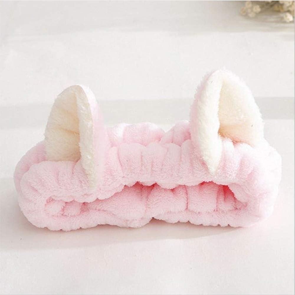 Womens Accessories Spa Headdress Clean Face Fluffy Headband Hair Band Cat Ears