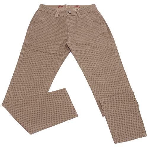 Carlo Chionna 5031X Pantalone Uomo 9.2 Light Brown Vintage Cotton Trouser Man [32]