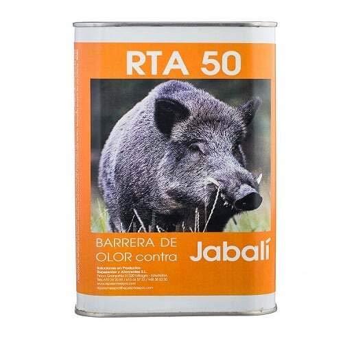 Barrera de olor contra jabalíes grandes fincas (1 litro) | Ahuyentador olfativo | Repelente para jabalís | Maizales, naranjos, olivos, cereales, patata etc | Grandes cultivos