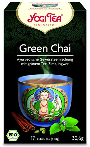 6er Pack Yogi Tee BIO Green CHAI, 17 Btl. à 1,8g