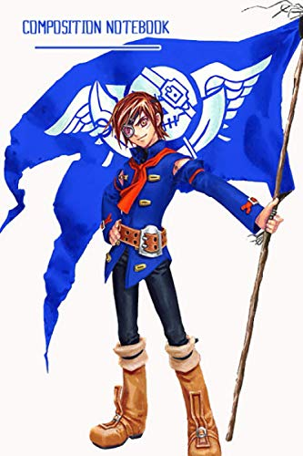 Skies Of Arcadia Notebook: (110 Pages, Lined, 6 x 9)