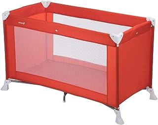 Safety 1st SOFT DREAMS 'Red lines' - Cuna de viaje, 0-3 añ