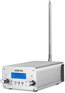 $88 » Sponsored Ad - 1W / 6W PLL FM Transmitter Radio Stereo Station Wireless Broadcast+TNC Antenna for Drive-in Church Supermar...