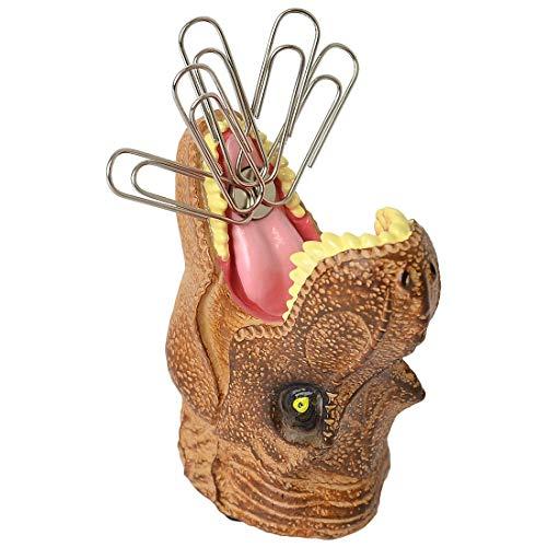 クリップホルダー マグネット 恐竜 リアル クリップ コンテナー 文具 収納 デスク用品 インテリア かわいい 眼鏡置き 恐竜 ダイナソー