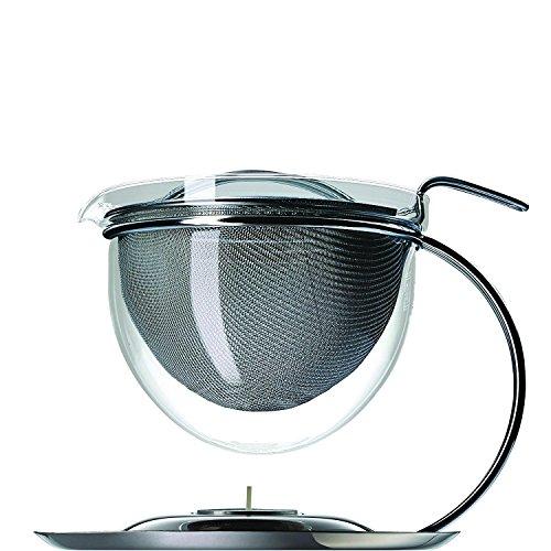 mono Filio Teekanne 1,5 l mit integr. Stövchen inkl. Wunschgravur auf dem Kannendeckel