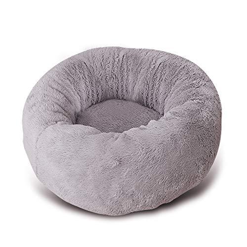 PETCUTE Flauschiges Katzenbett hundekorb warmes Welpenbett weiches Katzennestbett Katze Nest kuscheliges Hundebett für den Winter S