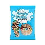 Vegebears Golosinas de Tooti Frutti 100g (Pack de 4)