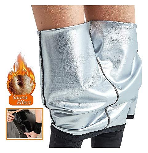 ZFLY-JJ Jogginghose, Anti-Cellulite-Leggings, Starke thermische Kompression, verstellbare Taille, abnehmende Leggings, Schweiß zur Gewichtsreduktion, für Sportjogging Slimming Fitness Pilates Yoga