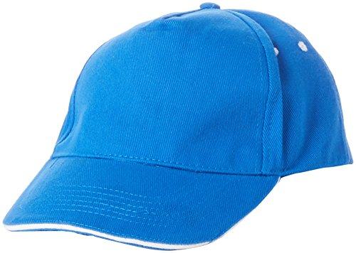 Regatta Amston 5 Panel Cap with Sandwhich Peak Gorra de béisbol, Azul...
