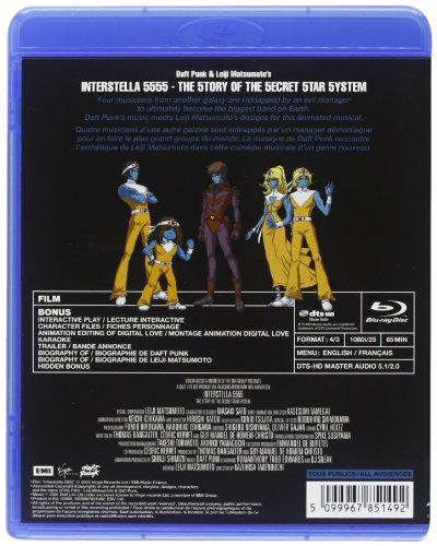 Interstella 5555 [Blu-ray] (1080i compatible player required)