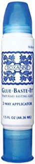 Roxanne Glue-Baste-It Temporary Basting Glue with 2-Way Applicator, 1.5oz