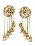Bindhani Fashion Bollywood Jewellery Traditional Ethnic Bridal Bride Wedding Bridesmaid Gold Plated Kundan...