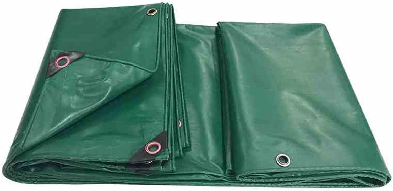 LQQGXL Tarpaulin Waterproof Gardening Plant Sunscreen Cover Cargo Truck dustproof Windproof shed Cloth AntiOxidation, Green Waterproof Tarpaulin