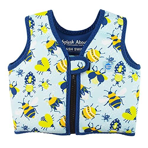 Splash About Swim Vest Gilet de Natation Go Splash Enfant, Bugs Life, 2-4 Ans