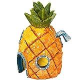 jackallo decorazioni per acquario con licenza ufficiale nickelodeon spongebob squarepants - sicuro per acquari dacqua dolce e salata