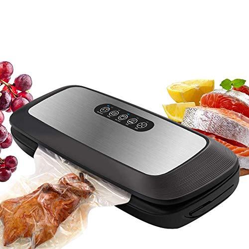 Máquina de embalaje SHUSHI Máquina de envasado al vacío, Automático/Manual de alimentos seco/húmedo vacío (regalo 15 bolsas de PC) sellador